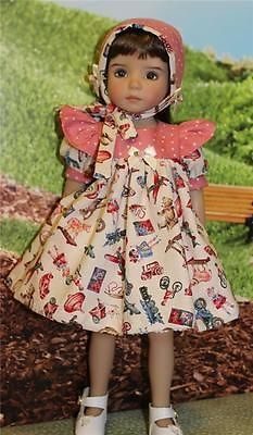 Old-Fashioned-Toys-for-13-Effner-Little-Darlings-by-ALISEWN. Sold for one bid of $49.95 on 10/15/14. Included dress, hat, chemise and half slip.