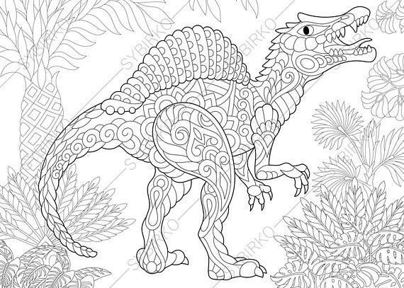 18 besten dinosaurier malvorlage bilder auf pinterest