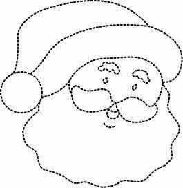 Botas navideñas molde 3