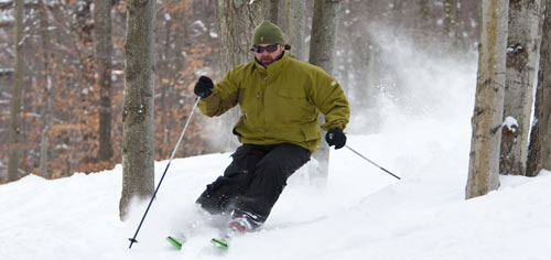 Visit the Poconos for amazing skiing during Winter in PA.