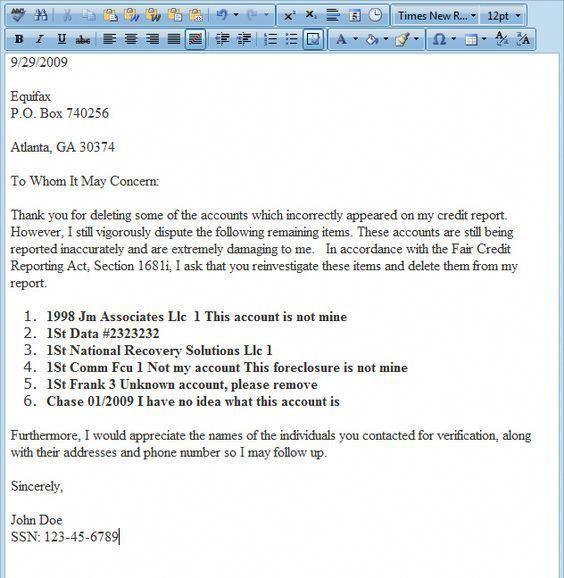 Dispute letter generator, Software for credit repair business