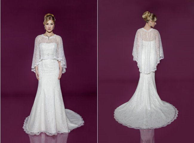 Beautiful bridalwear from the new 2014 Benjamin Roberts collection
