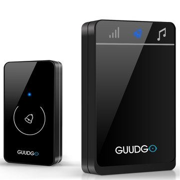 Guudgo GD-MD01 <b>Wireless</b> Touch Screen <b>Music Doorbell</b> Portable ...