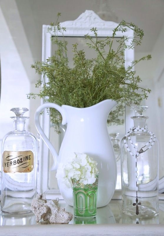 love this..have that pitcher so i may have to do this..
