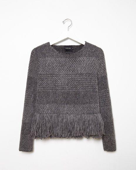 Rachel Comey   Alpaca Fringe Sweater   La Garçonne