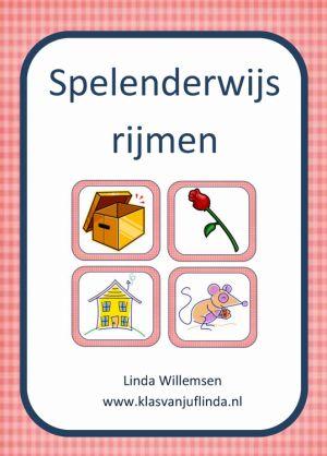Spelenderwijs rijmen het boek van Linda Willemsen