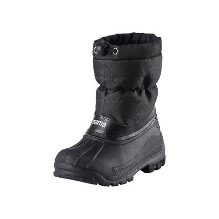 Reima Зимние ботинки Nefar для мальчика  — 2799р. -------------- Классические детские ботинки для снежной погоды от Reima® с подошвой из термопластичного каучука - очень популярная и надёжная зимняя обувь! Ботинки с утеплёнными голенищами великолепно подходят как для игр в снегу, так и для слякотных дождливых дней, потому что галошная часть изготовлена из совершенно водонепроницаемого и прочного термопластичного каучука. Обратите внимание, на рифлёный узор на внешней стороне подошвы спереди…