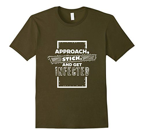 Men's Approach Stick and Get Infected T-Shirt Funny Graph... https://www.amazon.com/dp/B01LZUYSXF/ref=cm_sw_r_pi_dp_x_N676xbA9ANYBZ