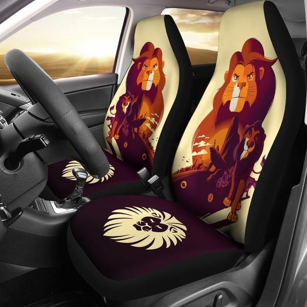Art Lion King Car Seat Covers