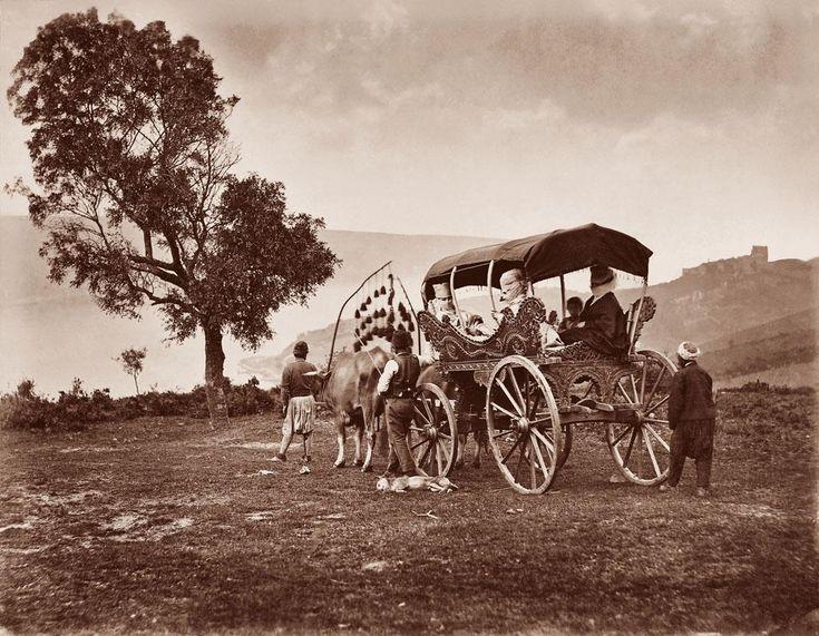 Yuşa Tepesi'nde Koçu Arabası (1865) #Beykoz