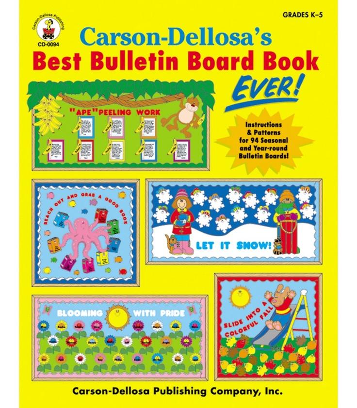 #CDWishList Carson-Dellosa's Best Bulletin Board Book Ever Resource Book - Carson Dellosa Publishing Education Supplies