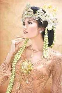 kind hairstyles: Indonesian wedding hairstyles