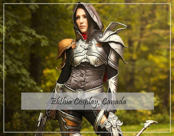 Diablo Demon Hunter by Elithia Cosplay #Diablo #blizzard #Diablo3 #D3 #Dios #reaperofsouls #game #players