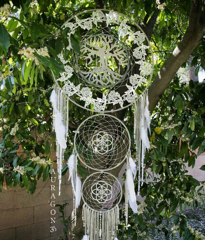 Willow Tree of Life ~ Recent custom creation ♡  More dream catchers available at www.aurvgon.com