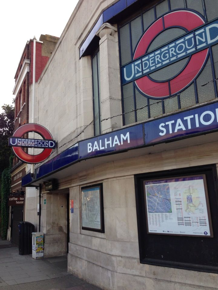 Balham London Underground Station in Balham, Greater London