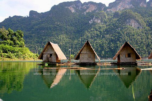 Kao Sok National Park, Thailand Two magical night in the most right huts One of the great places I visited! Sweet memories! #visited #travel #beentheredonethat