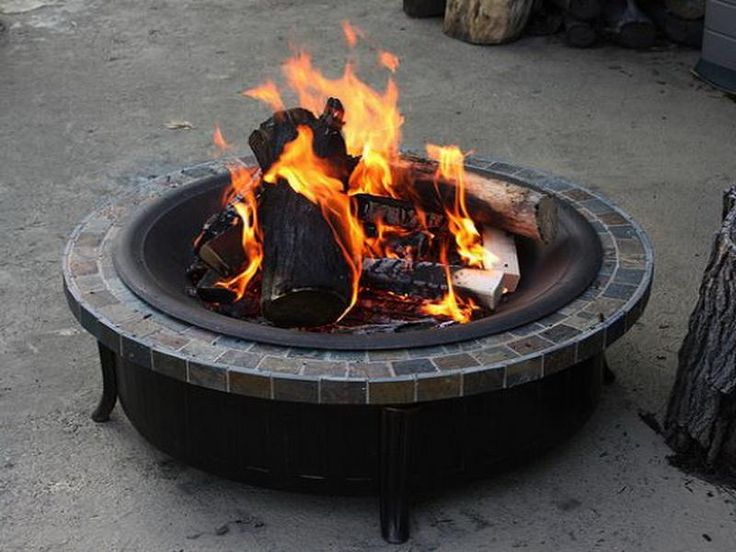 110 best images about house things on pinterest outdoor for How to build a portable fire pit
