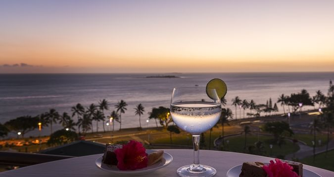 Hilton Noumea La Promenade Residences - sunset view