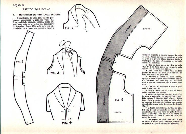 guia de corte e costura