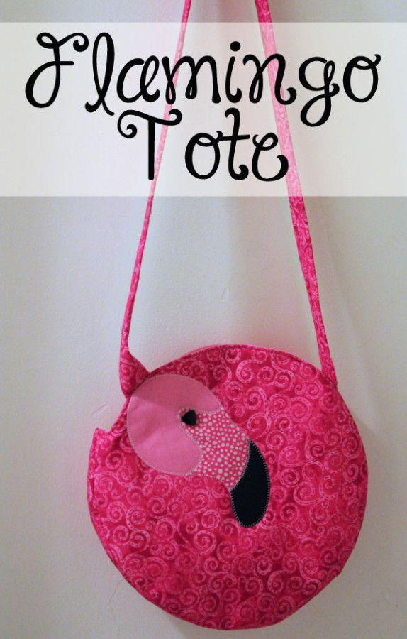 Kijk wat ik gevonden heb op Freubelweb.nl: een gratis patroon van Thermoweb om deze leuke flamingotas te maken https://www.freubelweb.nl/freubel-zelf/zelf-maken-met-stof-flamingo-tas/