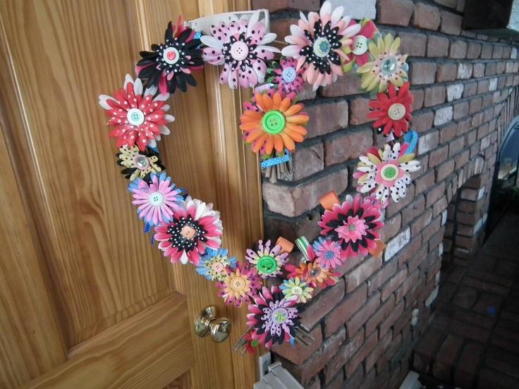 spring wreath for front door wreaths pinterest