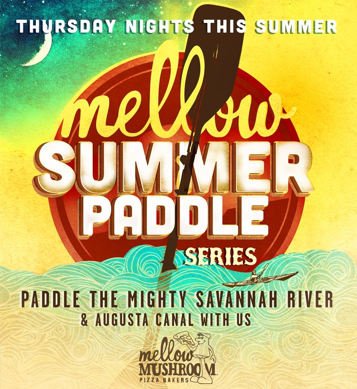 Summer Paddle #ad #kayak #summer @Mellow Mushroom HQ
