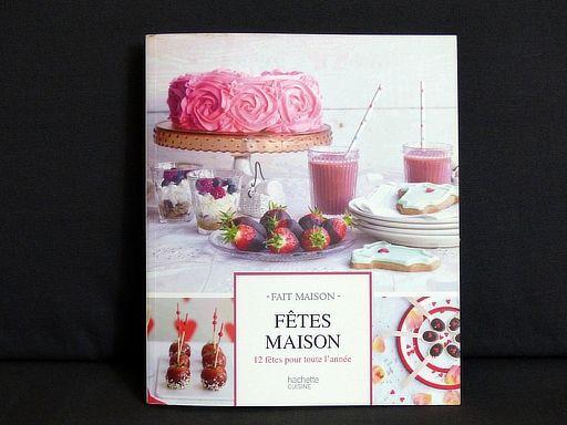 """Livre de recettes """"Fêtes maison - 12 fêtes pour toute l'année"""" : http://www.menagere-trentenaire.fr/2013/12/21/fetes-maison-12-fetes-pour-toute-l-annee"""
