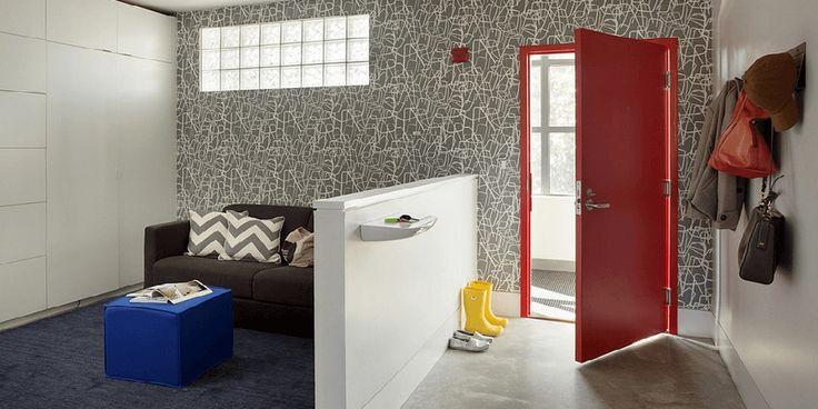 Living Room Entryway Design