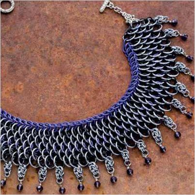 Resource guide to inspire and change your approach to chain maille jewelry #DealReval | InterweaveStore.com