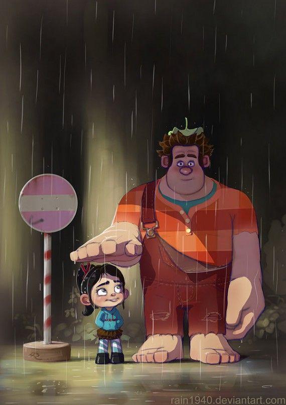 Mon Voisin Totoro - Les Mondes de Ralph