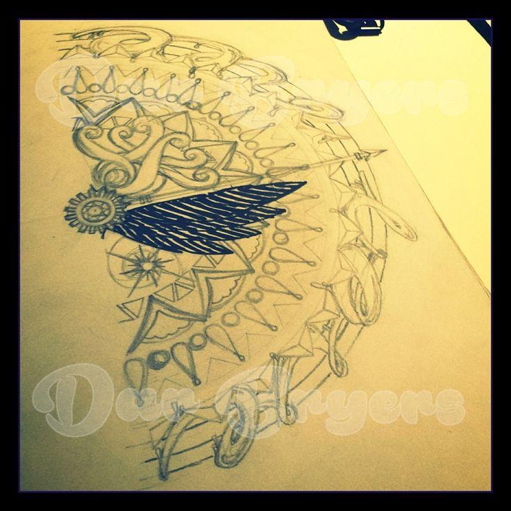 Mandala sketch.