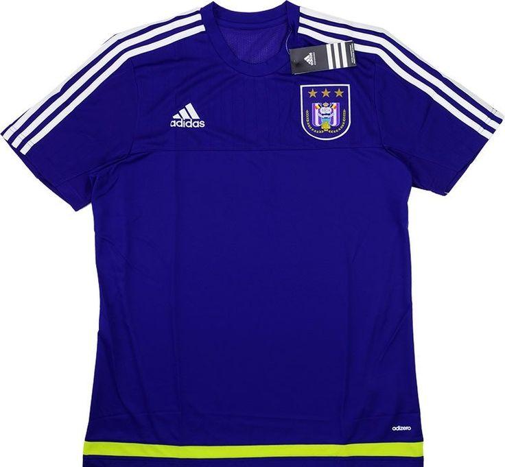2015-16 Anderlecht Adizero Training Shirt *BNIB* - Training - Clearance - Classic Retro Vintage Football Shirts