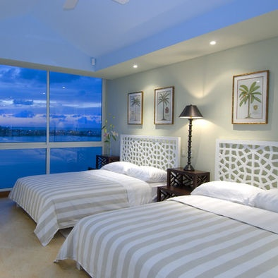 tropical bedroom design