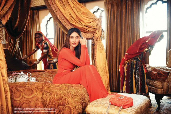 Kareena Kapoor Khan in a Roberto Cavalli gown
