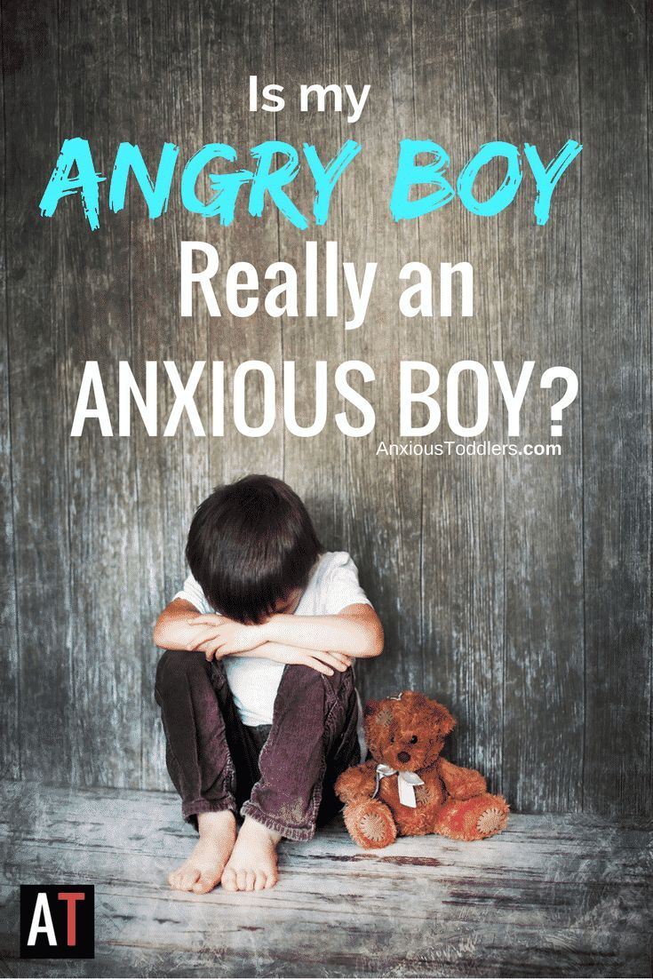 I work with hundreds of angry boys a year in my practice. An angry boy can have self-regulation or family issues. But some – have undetected anxiety.