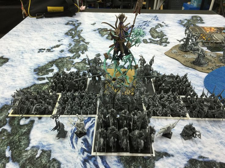 I started Warhammer fantasy battle with Nagash Vampire Counts, the final Sunday of September was scheduled 2014 is my first game. I cannot wait its day;)