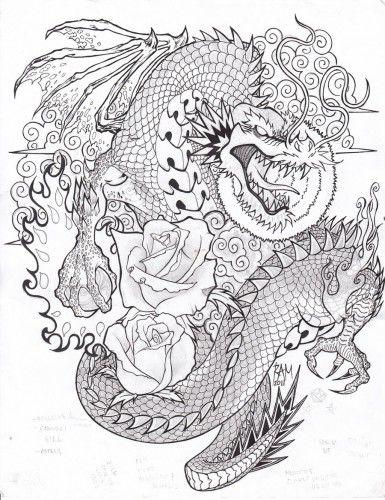 drago cinese tattoo - Cerca con Google