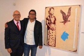 """Inauguran la exposición """"Estucos"""" de Demián Flores en la Casa Lamm"""