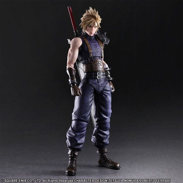 Final Fantasy VII Remake - Cloud Strife - Play Arts Kai - Limited Color ver. (Square Enix)