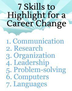 7 Transferable Skills for Career Changers
