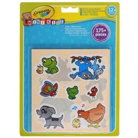 """Набор стикеров Crayola """"Животные"""", 175 штук  — 698р. ----------- Набор стикеров Crayola """"Животные"""" порадует вашего малыша! В набор входит более 175 наклеек с изображением веселых животных, которые можно наклеивать по нескольку раз! Чтобы приклеить наклейку, удалите защитный слой с обратной стороны и плотно прижмите наклейку к чистой сухой поверхности. Таким образом малыш сможет украсить свои тетрадки, школьные принадлежности или рабочий стол."""