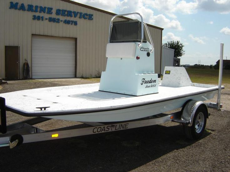 Chiquita boat freedom boats texas shallow water for Flats fishing boats