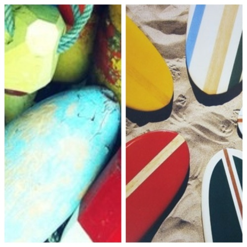 To the Sea //  Buoys // Surfboards ///  Max Wagner // via scoutshonorco.com