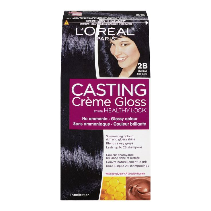L'Oreal Healthy Look Creme Gloss Hair Color, 2B Blue Black *** To view further for this item, visit the image link.