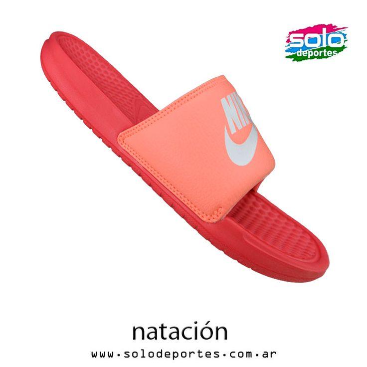 Benassi JDI W Fucsia/Blanco/Rosa  Marca: Nike 510010603727600   $ 239,00 (U$S 40,85)