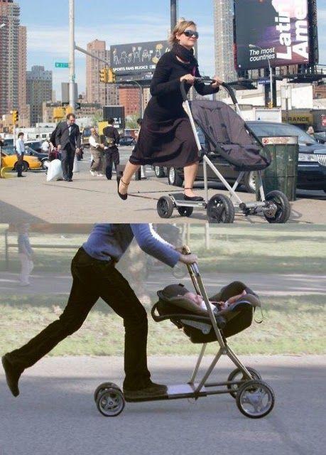 Stroller Scooter.