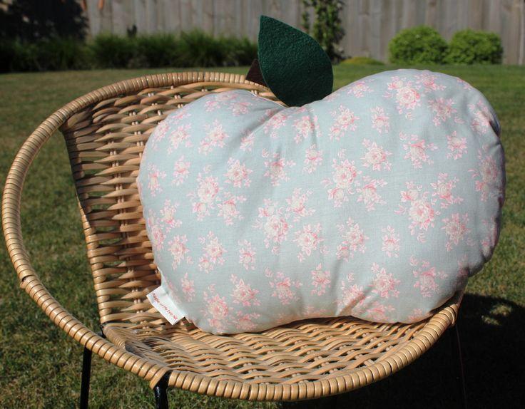Floral Apple Cushion...