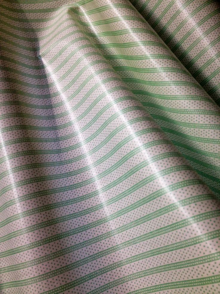 """A fabric called """"Fancy Stripe"""" from 1983 from the Archive II Collection by Warner."""