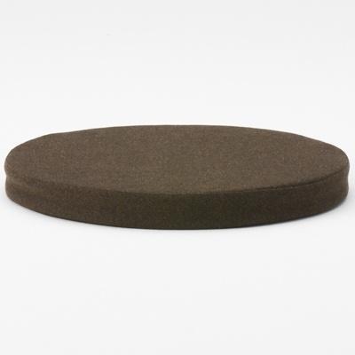 Muji Net Store 36cm Diameter Round Mottled Brown Round