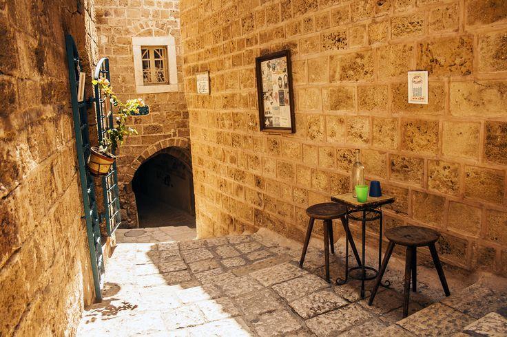 A charming alley in Old Jaffa, Israel.  https://flic.kr/p/f9yAAJ